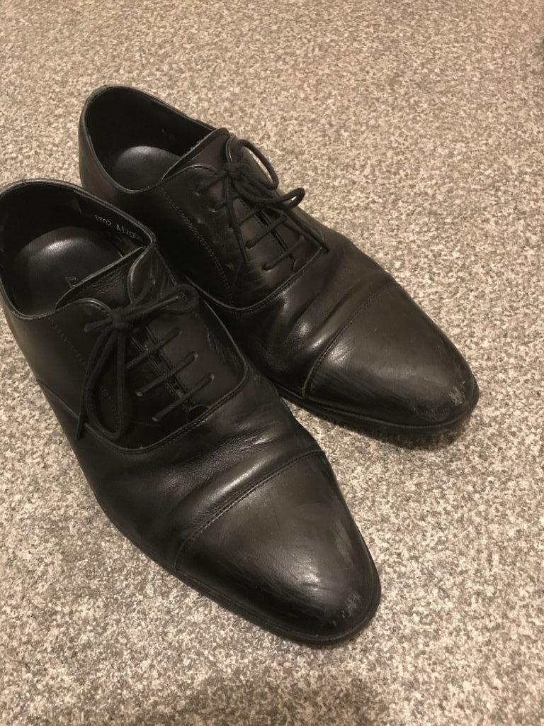 靴を磨いてみた