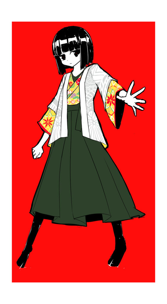 オリジナルキャラクターの服装